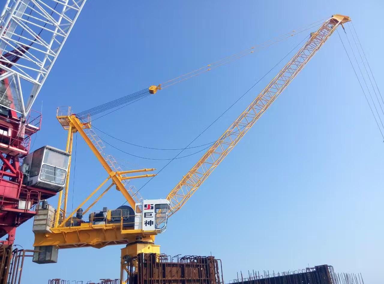 汕头塔吊内部租赁,中联重科6012是多大的塔吊